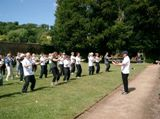 Bristol Tai Chi in the park 1